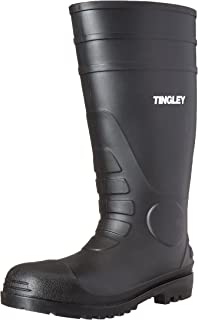 TINGLEY 31151 Economy SZ11 Kneed Boot for Agriculture, 15-Inch, Black