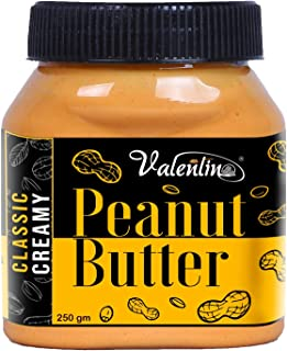 valentino Peanut Butter Classic Creamy 250gm Pack of 1