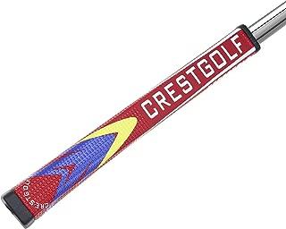 Crestgolf Putter Grips Midsize Anti-Slip Lightweight Golf Grip, More Shock Absorption,Strong Push