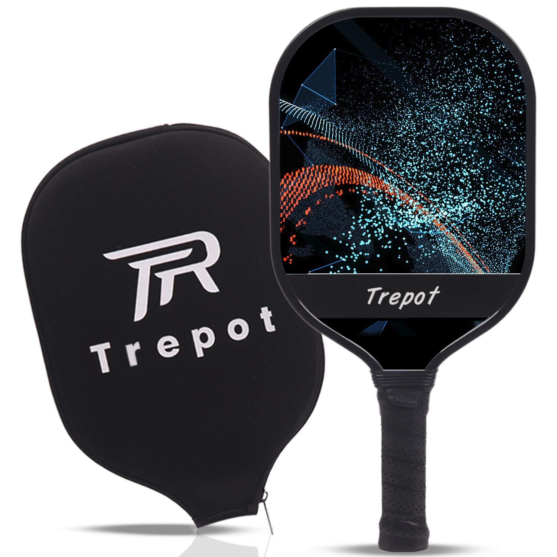 Trepot-Pickleball Paddle Graphite Pickleball Racket wi -34K6
