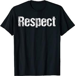 Best respect t shirt Reviews
