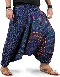 mens harem pants uk