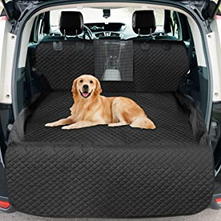 Vailge Dog Cargo Liner for SUV,Waterproof Dog Car Seat Cover Mat with Mesh Window, Nonslip Trunk SUV Cargo Liner for Dogs,...