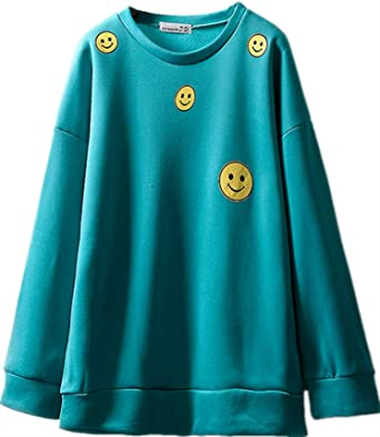 Multi Color Polyester Round Neck Hoodie & Sweatshirt For Women