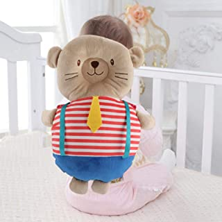 Premium PP Cotton Super Soft, Baby Pillow with Elastic Shoulder Straps, Protective Pillow for Healthy Baby, Baby to Learn ...