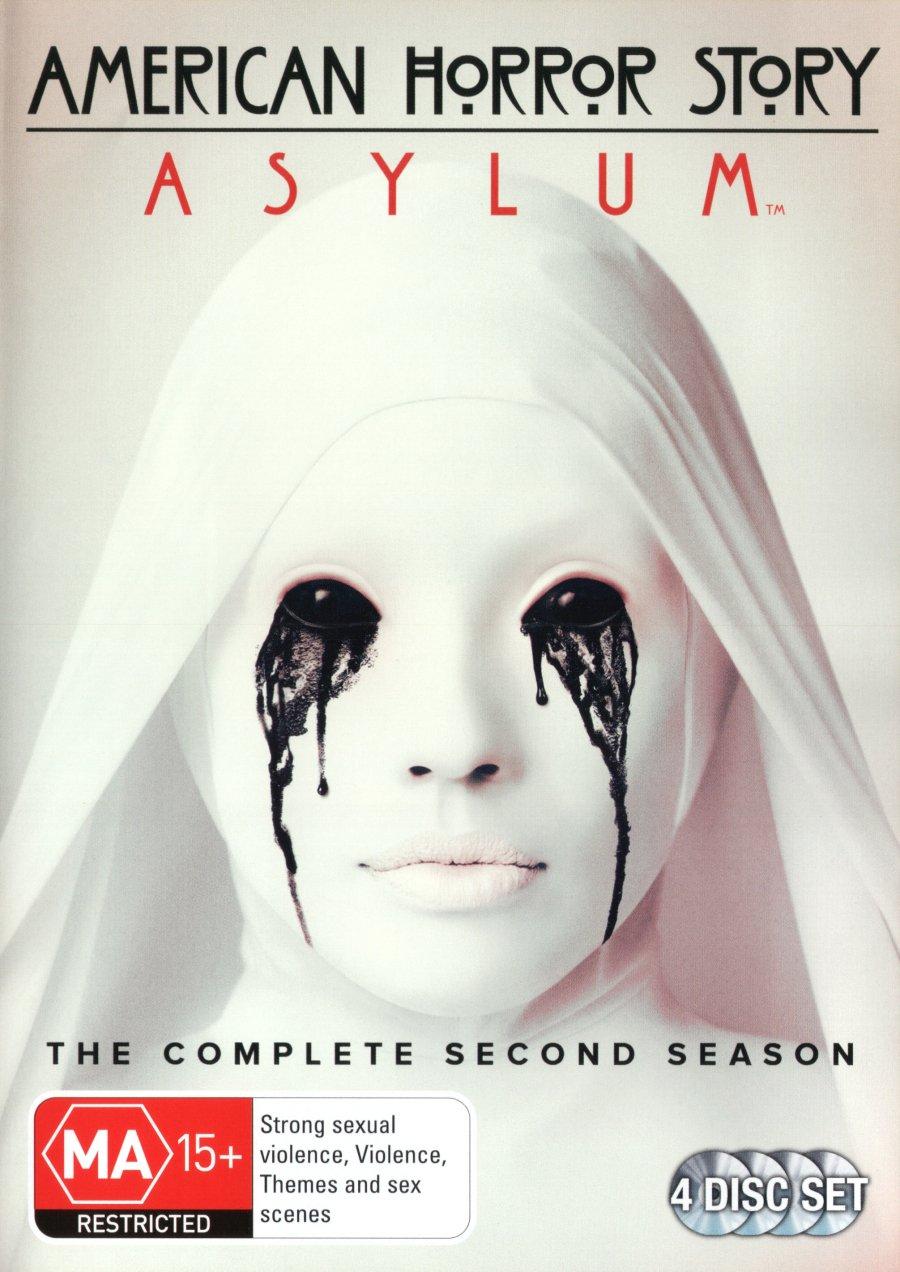 American Horror Story Asylum Alternative dealer Season NON-USA Format Discs Super Special SALE held 2 4