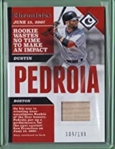 dustin pedroia game used bat