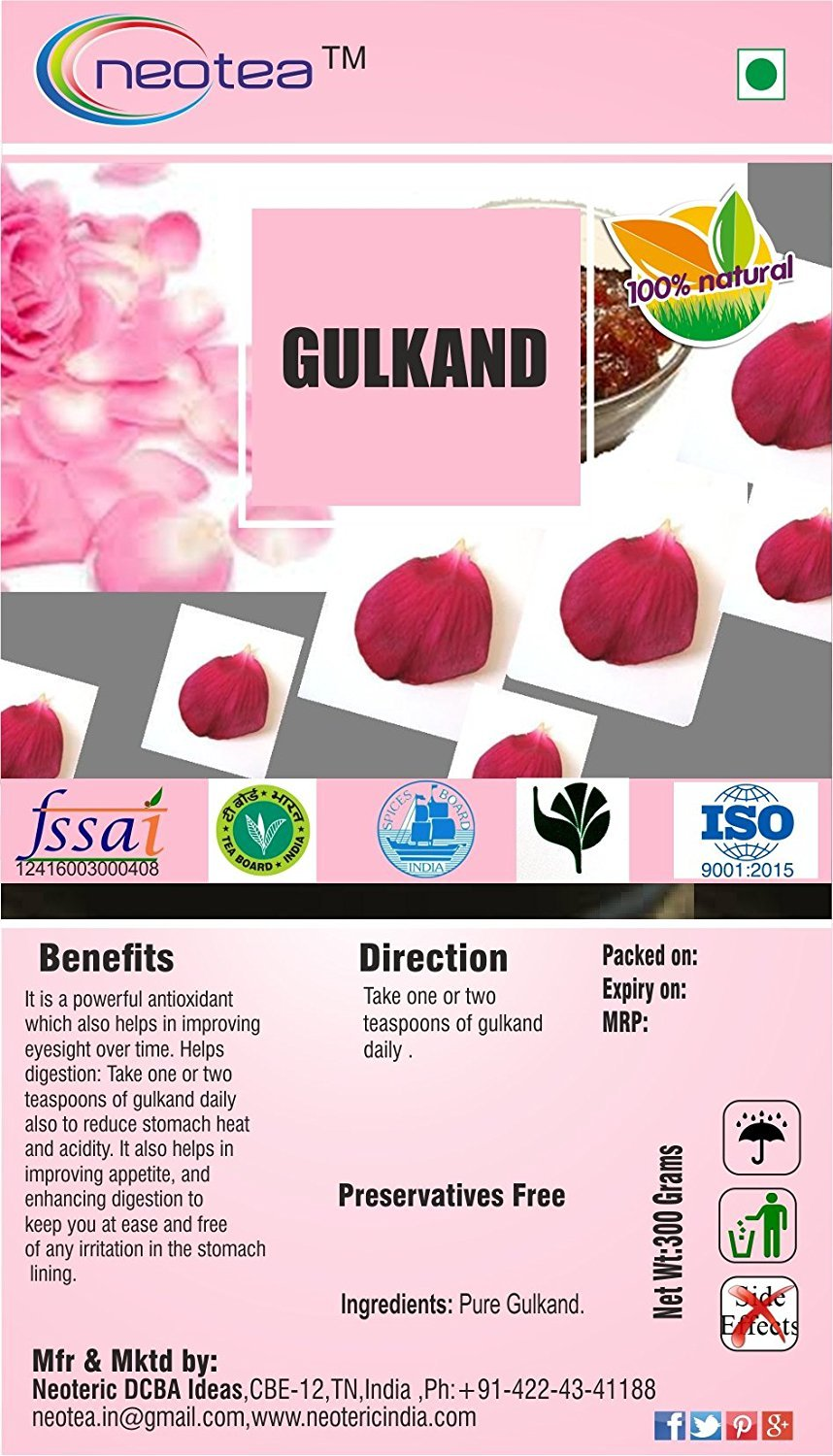 Neotea Gulkand 1 Product Kg Sale special price