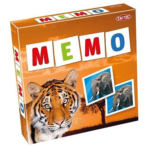 Wildlife Memo Game
