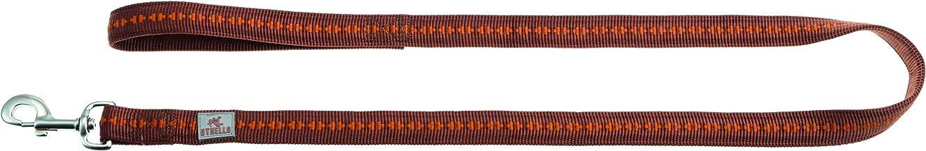 Othello Modern Art Corso Harnais pour Chien avec Sangle en Nylon et Sangle Ventrale r/églable en continu par Boucle /à Clip et Fermeture en Plastique Tailles XS-XL Rouge//Violet//Marron