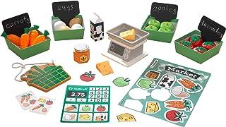 KidKraft 53540 bondens marknad lekpaket, leksak kök tillbehör set
