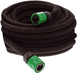 15m or 30m Porous Soaker Hose Water Drip Irrigation Flexible Lawn Garden Watering – Micro Soaker Hose Porous Leaky Pipe Pl...