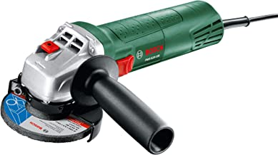 Bosch Angle Grinder PWS 620-100 (620 Watt, 100 mm, Grinding Disc Included, in Cardboard Box)