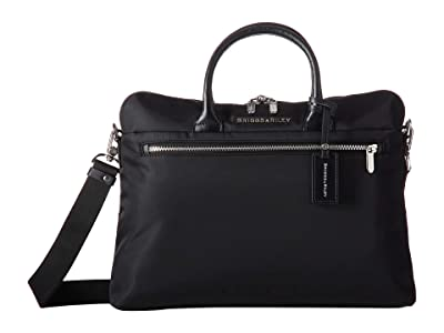 Briggs & Riley Rhapsody Slim Medium Business (Black) Briefcase Bags