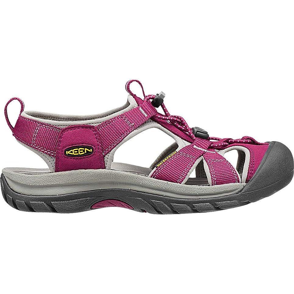 やりすぎ排出マイクロプロセッサ[キーン] レディース 女性用 シューズ 靴 サンダル Venice H2 - Beet Red/Neutral Gray [並行輸入品]