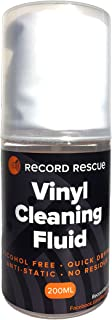Vinyl Cleaning Fluid & Microfiber Towel - Record Washing Solution (200ml Spray Bottle) | Record Rescue