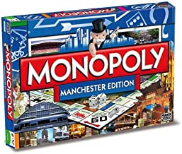 Winning Moves Games Manchester Monopoly Board Game