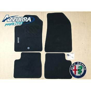 1765666 Antiscivolo Gamma Luxe su Misura Finitura Velluto DBS Tappetini Auto 3 Pezzi Tappetini pianale Moquette Alta Qualit/á 1000g//m/²