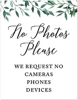 Best please no photos sign Reviews