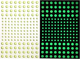 DUOFIRE 3D Domed Glow in The Dark Stars Wall or Ceiling Stickers, Glowing Ultra Bright Dots of 336Pcs,Perfect for Kids Bedding Room or Birthday Gift,Beautiful Wall Decals and Ceiling Decors