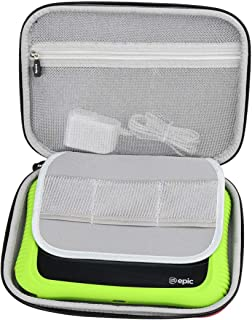Aproca Hard Travel Storage Case Compatible with Leapfrog Epic Academy Edition (Red)