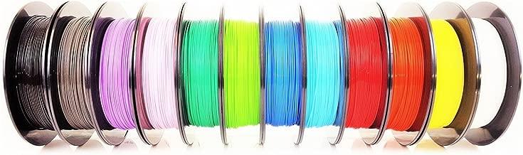 AIO Robotics Universal Premium Filament Bundle, PLA, True Popular Pantone Colors (Multi-Pack of 12)