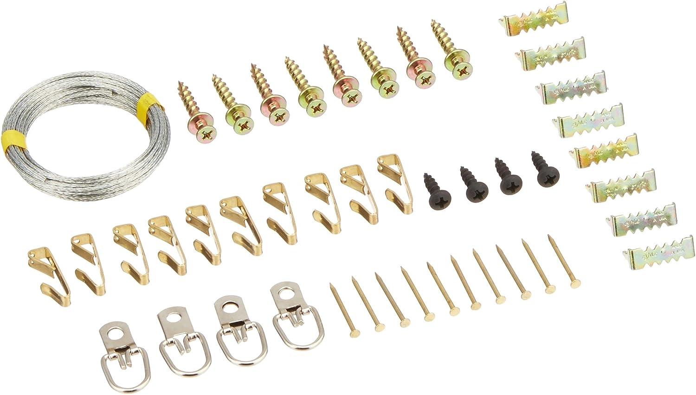 Hangman Produkte Bilder-Aufhänge-Set mit Bearclaw Kleiderbügel, andere, mehrfarbig B018HB5O72 | | | Erste Gruppe von Kunden  c616ee