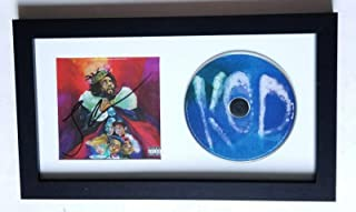 J. Cole J Cole rapper REAL hand SIGNED KOD CD Framed Display COA w/PROOF