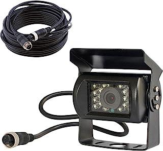 12 V 24 V 4 Pin Bus LKW Anhänger Heavy Duty 18 IR LEDs Nachtsicht Wasserdicht Rückfahrkamera Rückfahrkamera mit 15 m 4 Pin Kabel