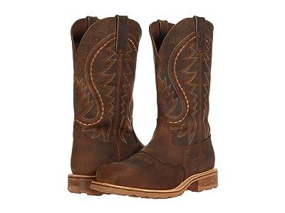 Durango Maverick Pro 12 Waterproof Steel Toe (Rugged Tan) Men