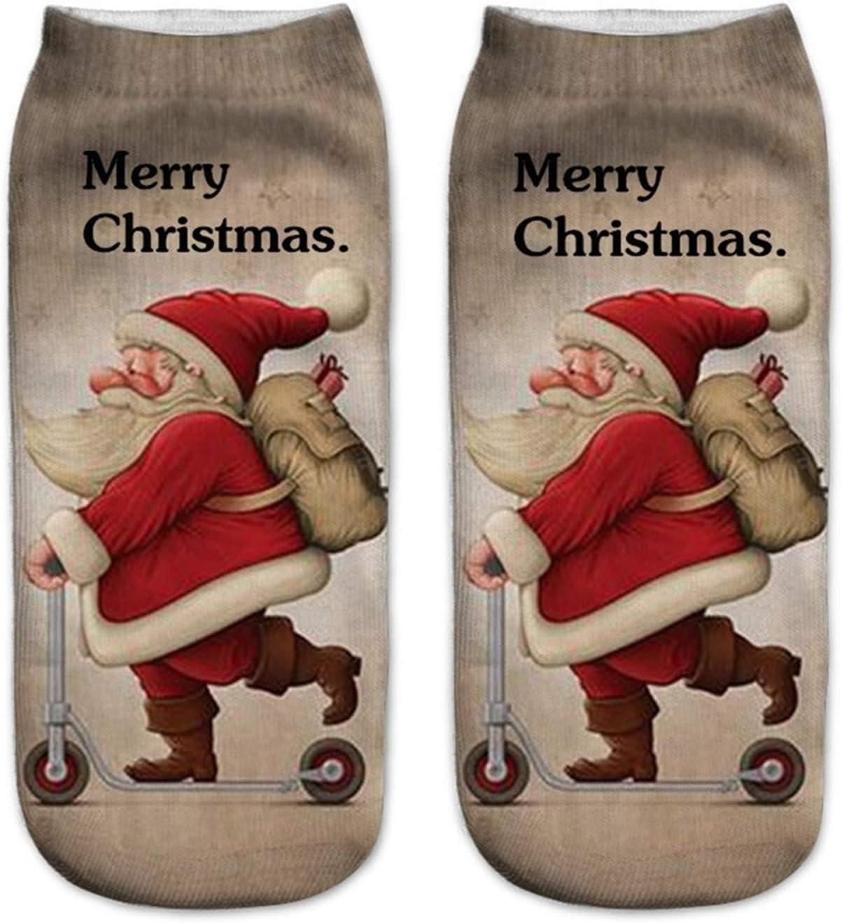 Jgzwlkj Christmas Socks Casual Christmas Socks Work Business Soc