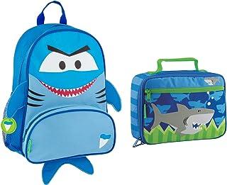 Stephen Joseph Sidekick Shark Backpack and Lunch Box