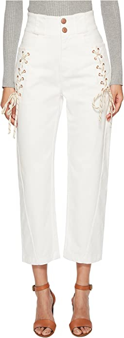 See by Chloe - Lace-Up Pants