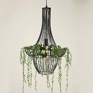Iron Art Light air Garden pots Potted Plants Creative Nordic Restaurant chandelier
