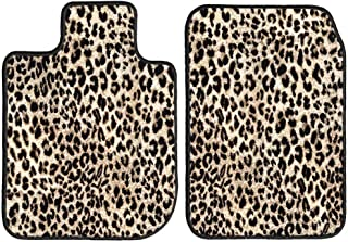 GG Bailey D3404A-F1A-LP Front Set Custom Fit Floor Mats for Select Lotus Esprit Models - Polypropylene Fiber (Leopard)