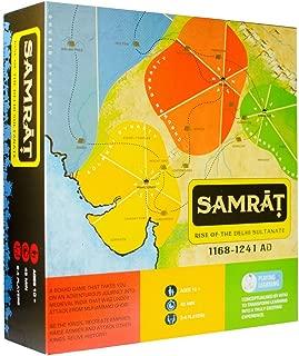 Kitki SAMRAT Strategy Board Game Based On Indian Kings.