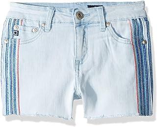 AG Adriano Goldschmied Girls A819SH187 The Laken Short Shorts - Blue