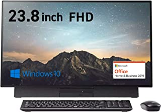 NEC デスクトップパソコン LAVIE Direct DA(S) 【Web限定モデル】 (ファインブラック) (Core i5/16GBメモリ/256GB SSD/1TB HDD/ブルーレイ/TV機能(シングルチューナ)/Office Hom...