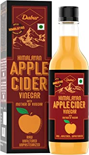 Dabur Himalayan Apple Cider Vinegar with Mother of Vinegar | Raw , Unfiltered , Unpasteurized - 500 ml