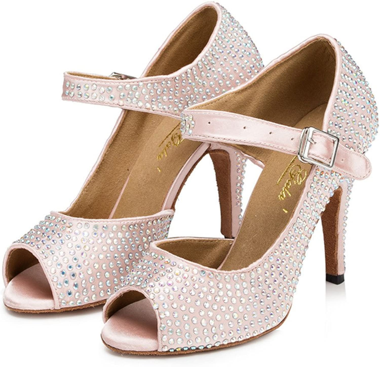 Women's Latin Dance shoes,Square Dancing shoes Women's Ballroom shoes Latin Salsa Latin Dance Sandal