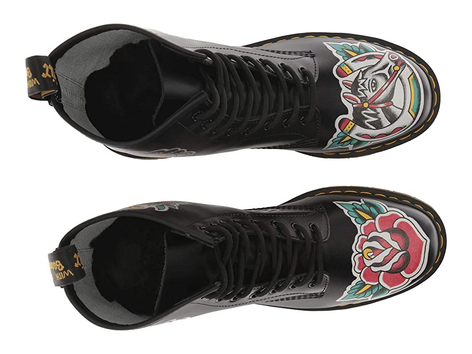 Dr. Martens 1460 Tattoo Chris Lambert (White Backhand/Tattoo Asia) Boots