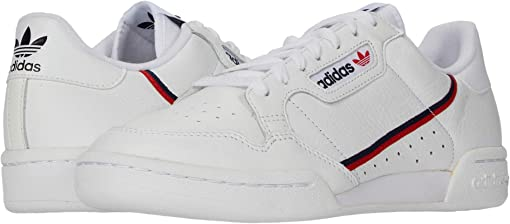 Footwear White/Scarlet/Collegiate Navy