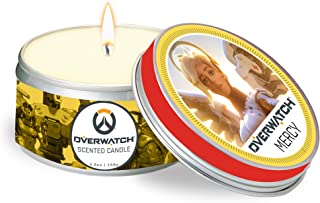 Overwatch: Mercy Scented Candle: 5.6 oz: Large, Winter