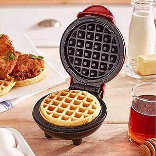 Waffle Maker, Pancake Maker, Mini Waffle Iron Machine, Electric Cake Maker for Pancakes Cookies, Non Stick Coating, Deep C...