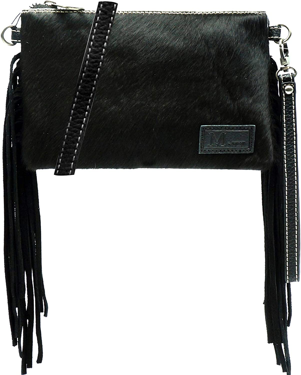 Montana West Cowhair Leather Crossbody Bag Cell Phone Purse Wallet For Women Western Cowgirl Small Clutch Shoulder Bag