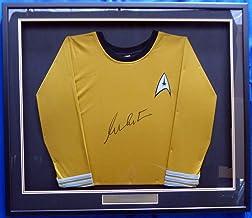 William Shatner Autographed Framed Star Trek Uniform Shirt JSA Stock #160687