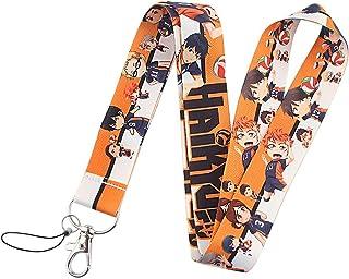 Anime Haikyuu Karasuno High Hinata Shoyo Lanyard Mobile Phone Strap