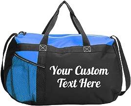Custom Script Text Gym Workout Bag: Gym Duffel Bag