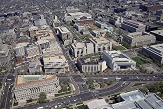 Photograph- Aerial view of Washington, D.C. 2 Fine Art Photo Reproduction 66in x 44in