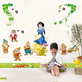 Amazoncom Snow White Dwarfs Wallpaper Mural Tools